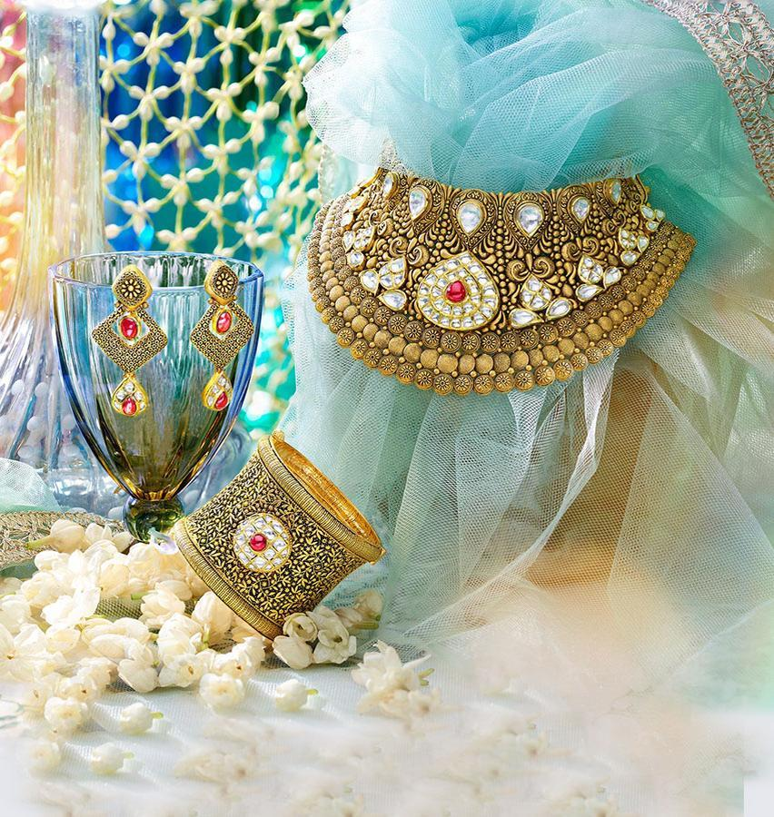 Muhurat wedding jewellery designs and collections
