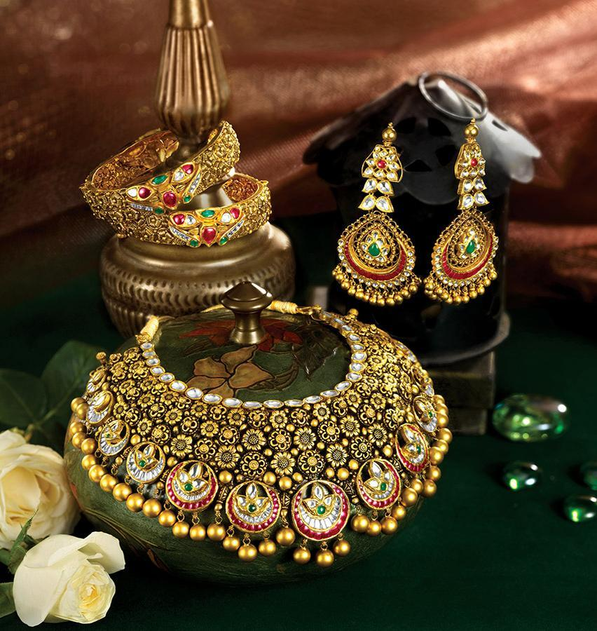 necklace gold designs for women kerala