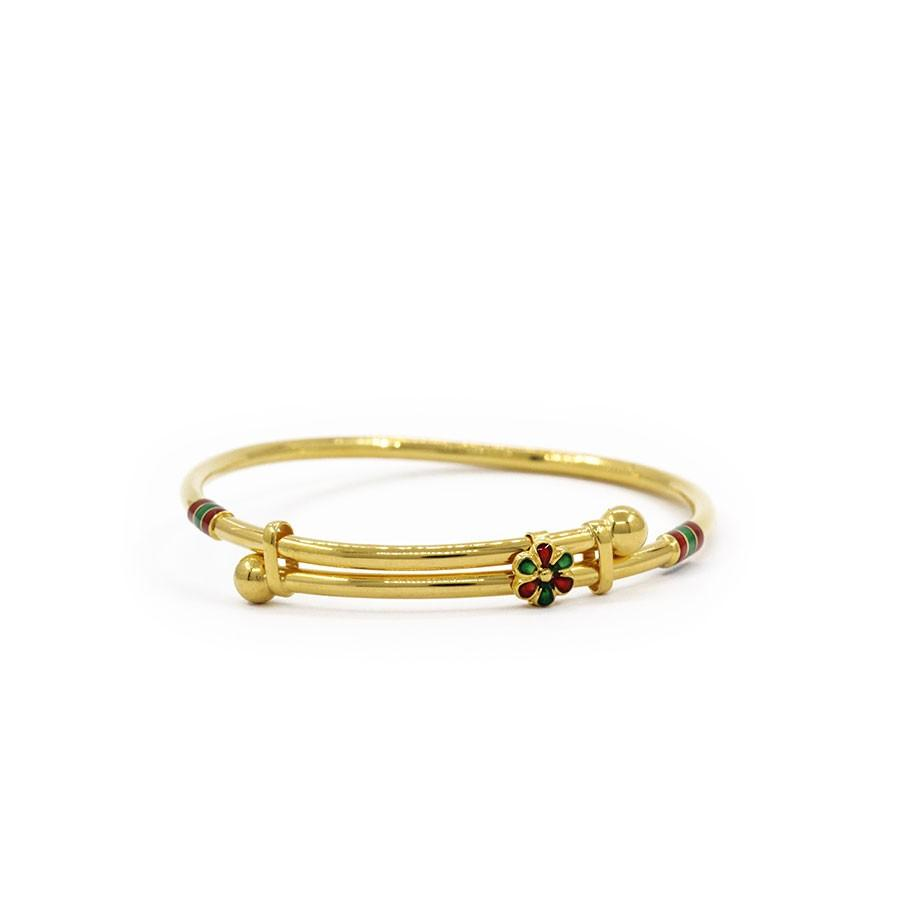 childrens gold bangles