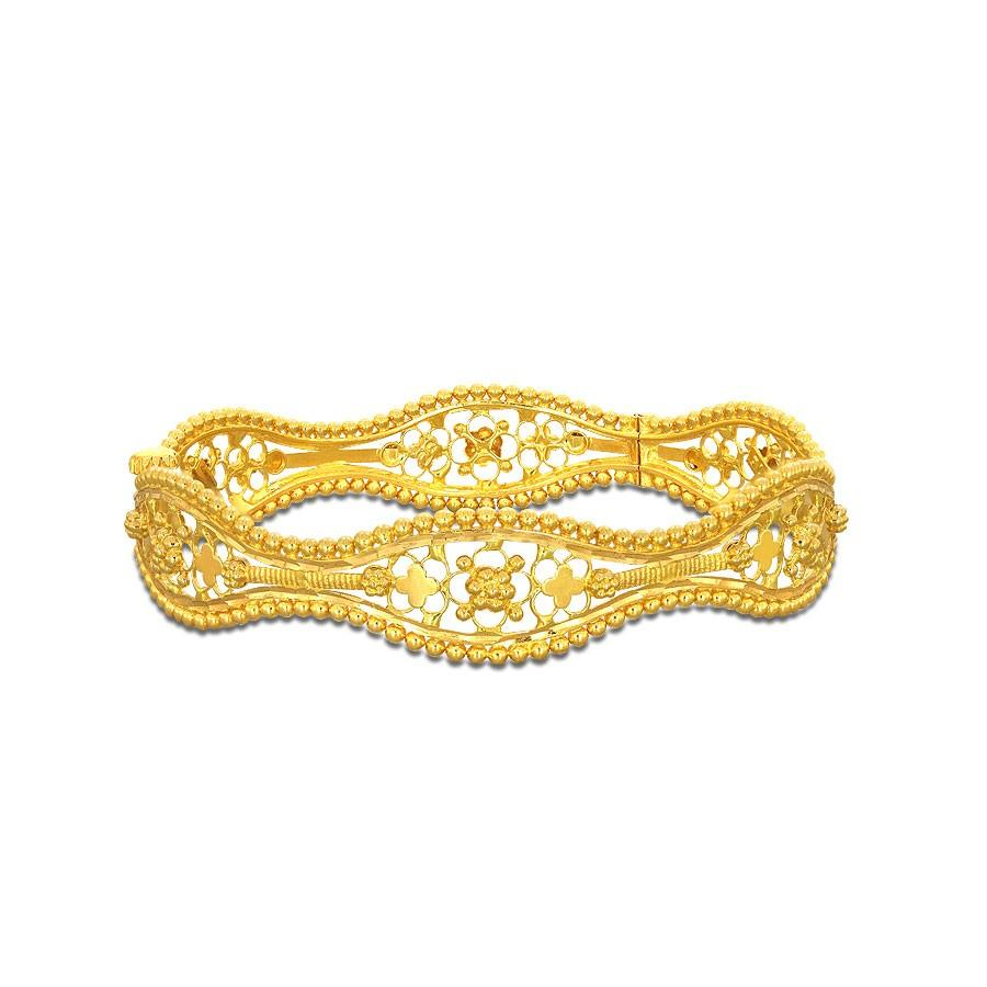gold kangan design