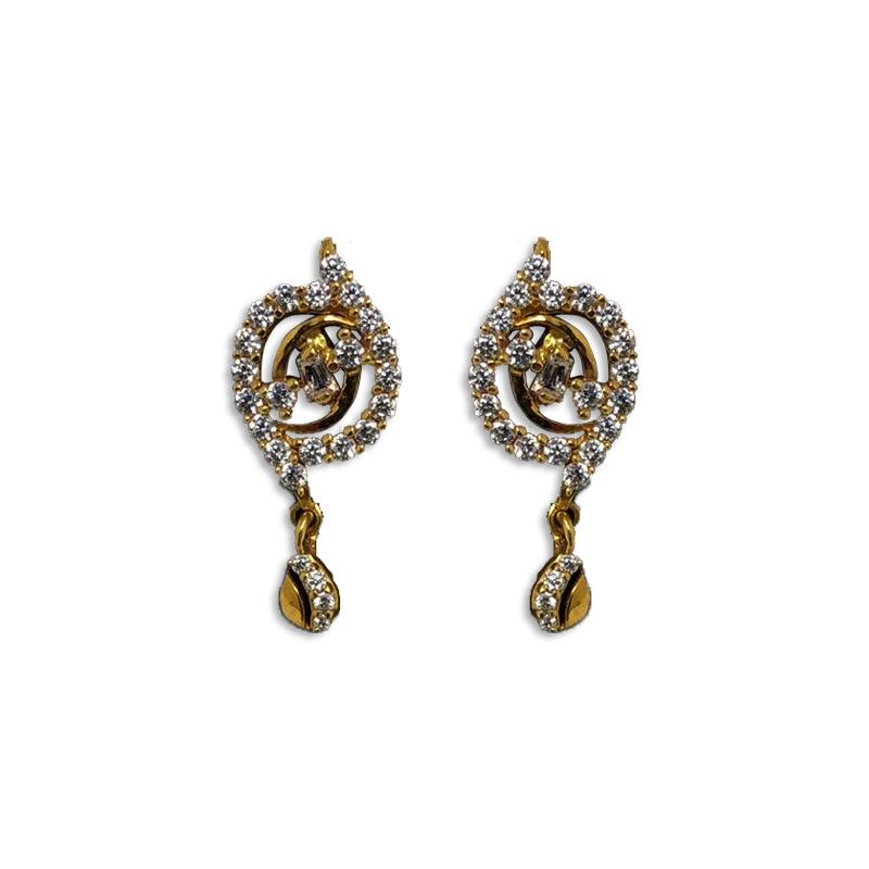 3 GRAM GOLD EARRINGS