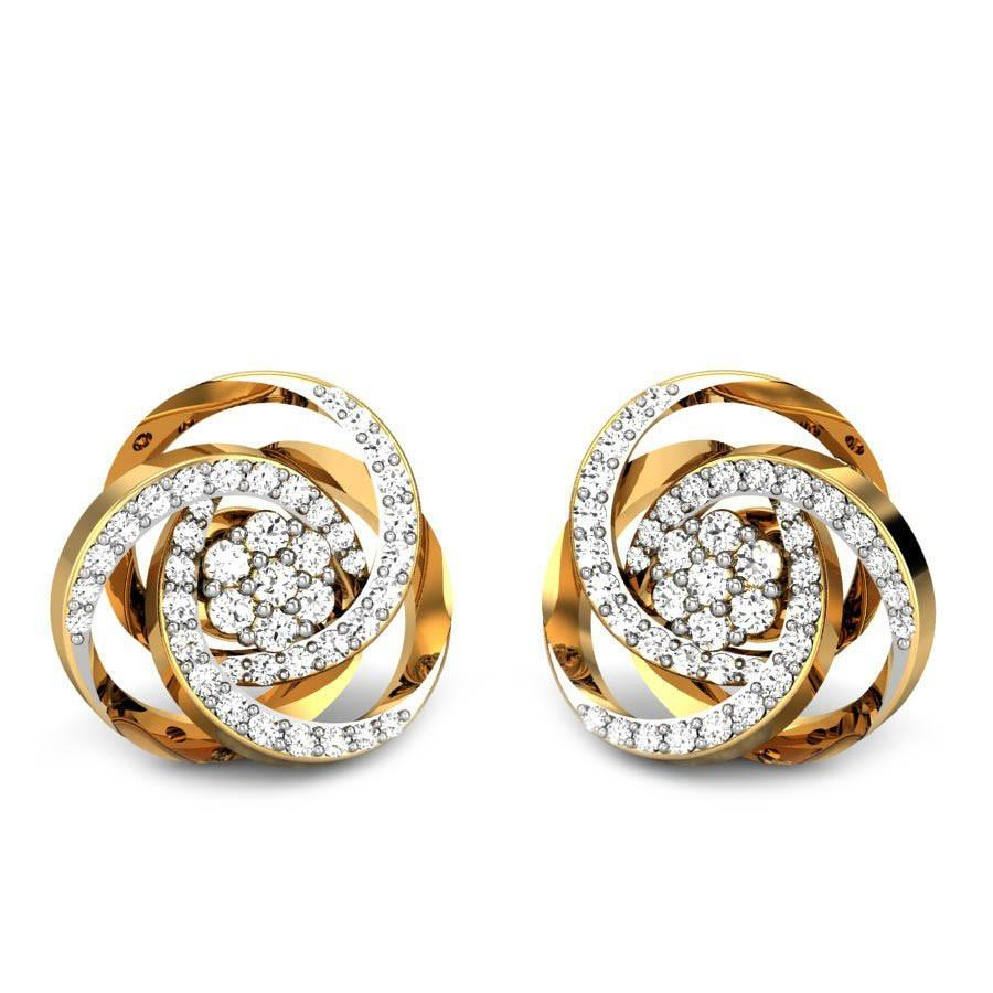 Diamond Earrings For Girls