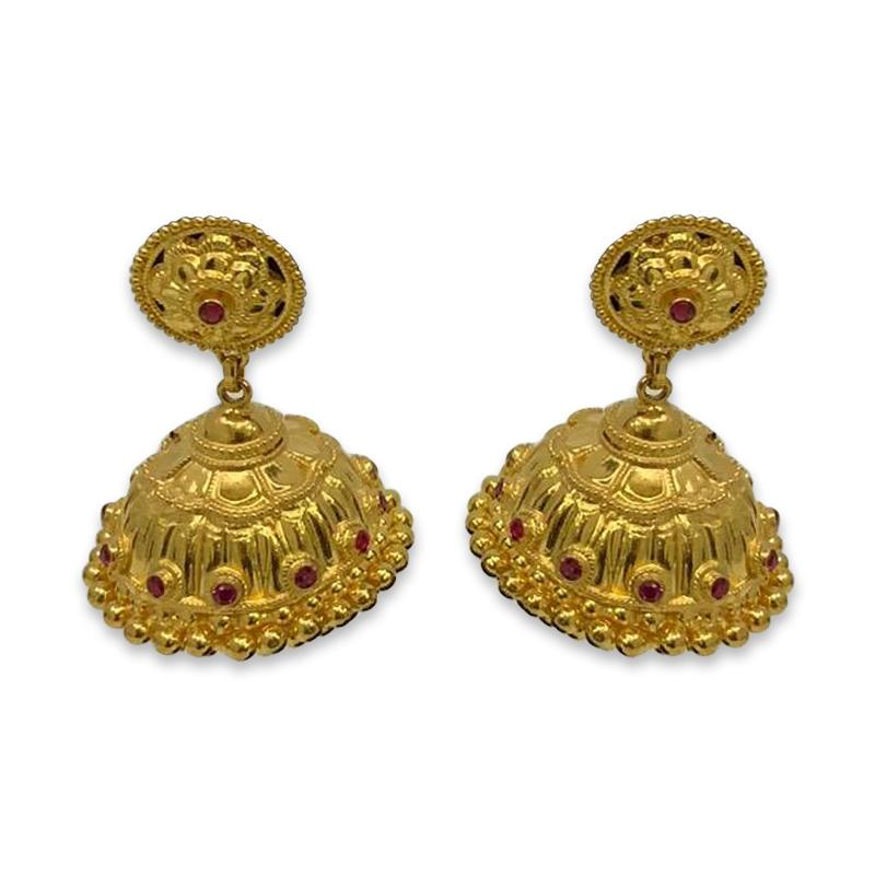Diwali Jhumka Earrings