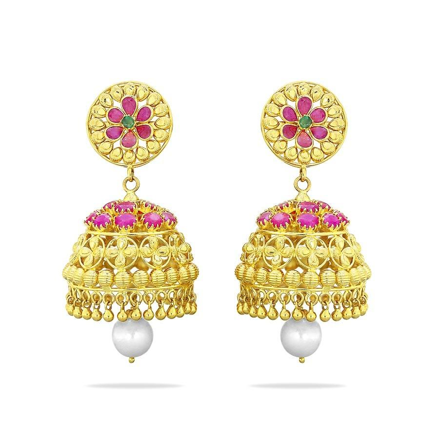 latest jhumka design