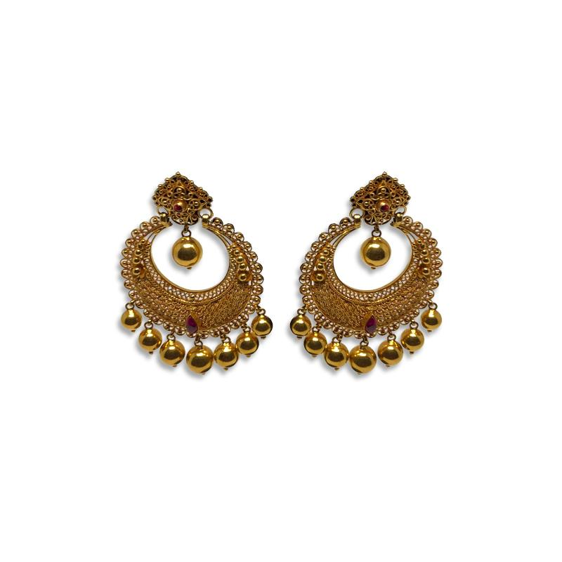 Ring Type Earrings