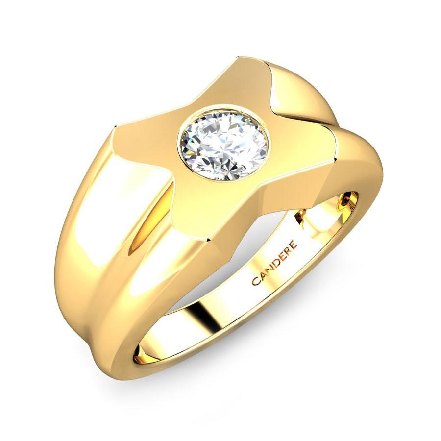 GOLD RINGS FOR MEN