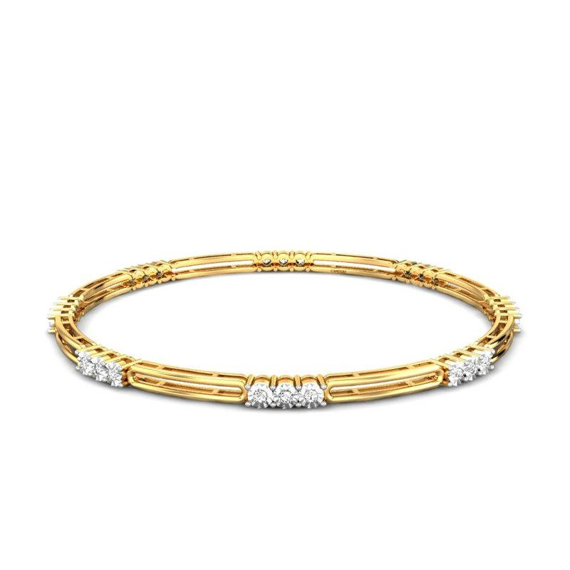 light weight gold bangles designs