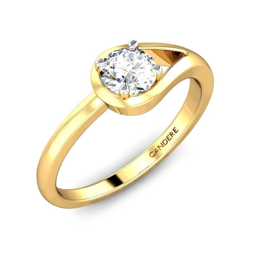 GOLD ENGAGEMENT RING DESIGNS FOR COUPLE