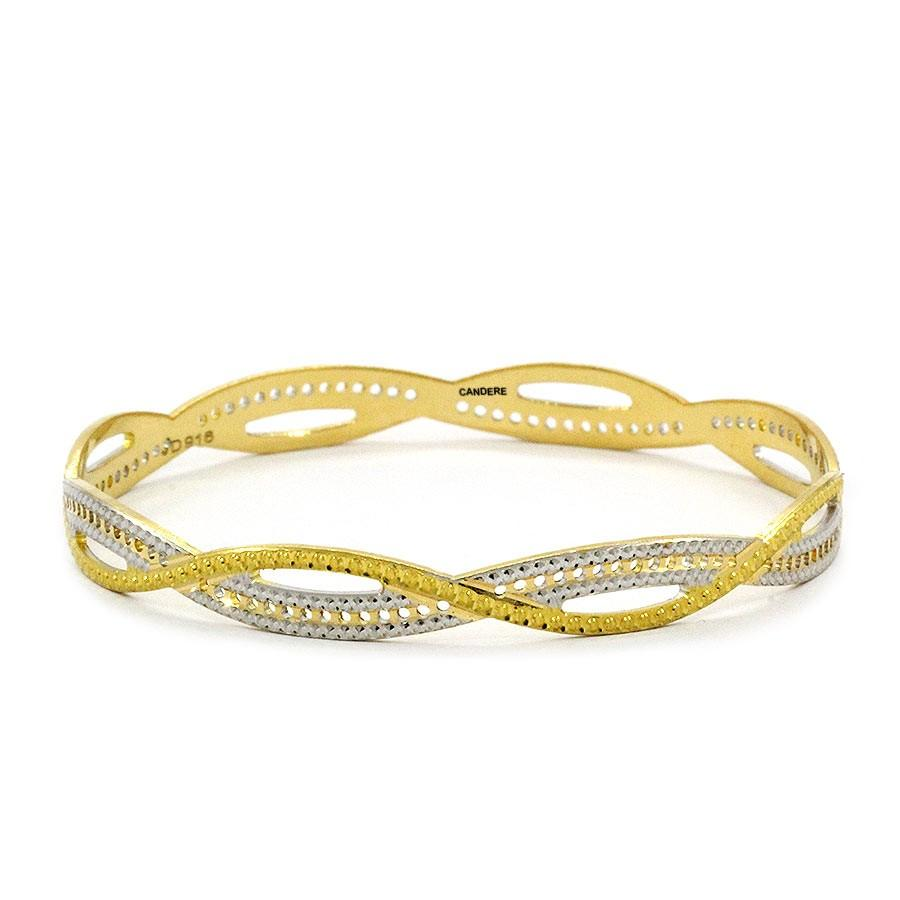 golden bangles designs
