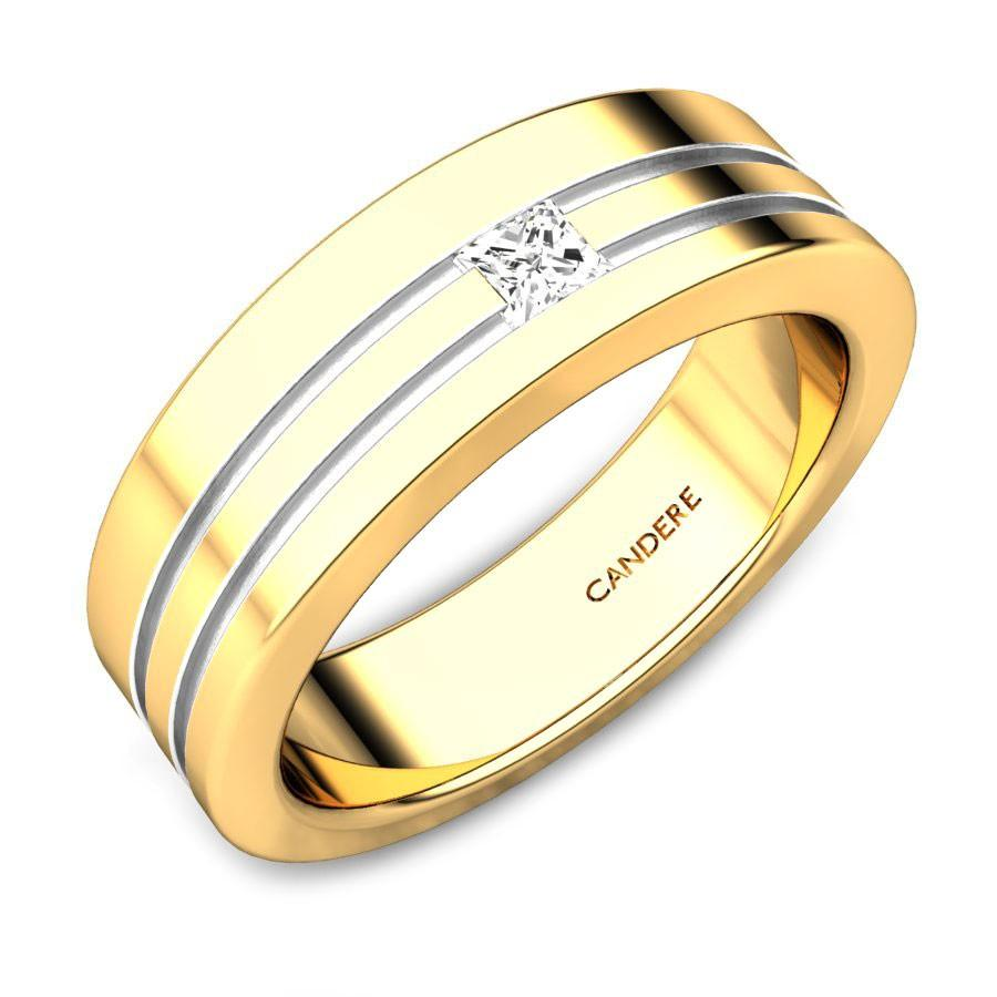 gold couple rings for engagement
