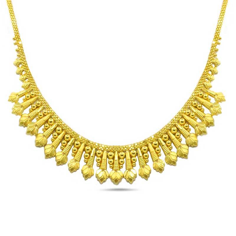 wedding necklace gold
