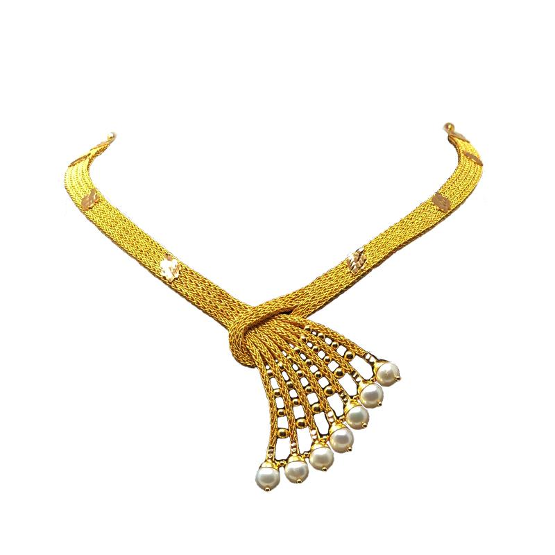Modern Gold Necklace Design