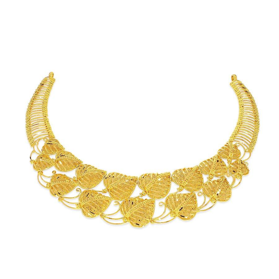 necklace designs in gold for marriage