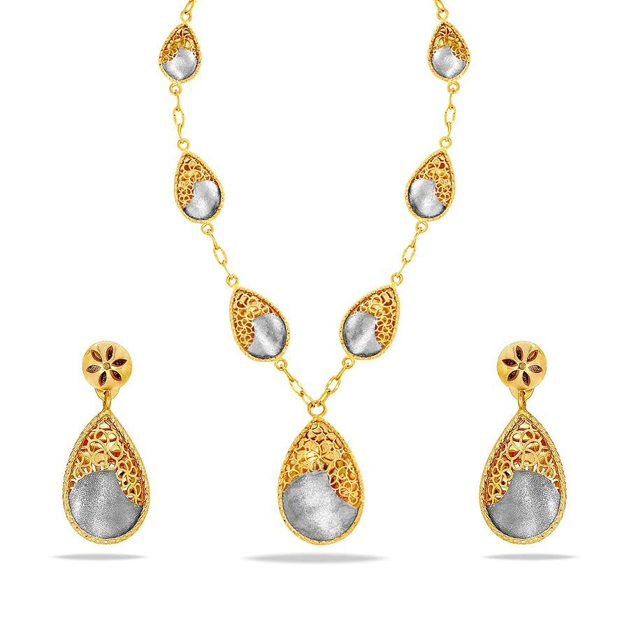 GOLD NECKLACE DESIGNS WITH PRICE