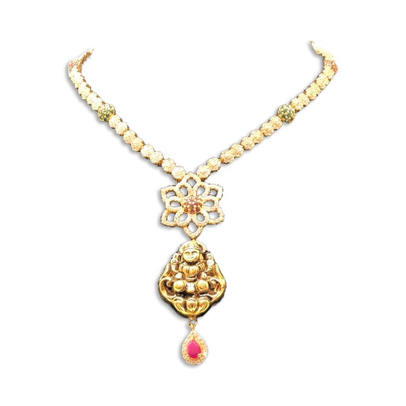 ELEGANT DIAMOND NECKLACE DESIGNS