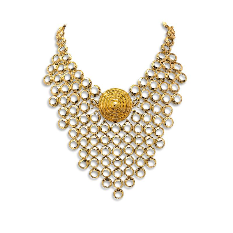 Gold Necklace Designs In 50 Grams With Price