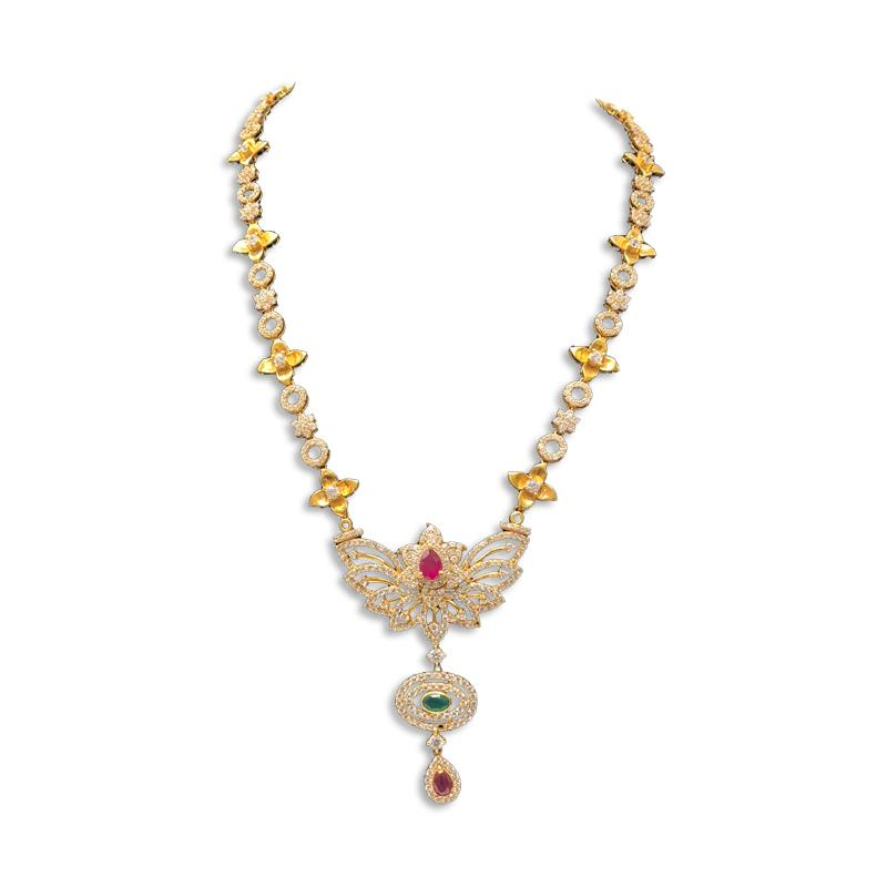 WEDDING MALAI DESIGNS NECKLACE