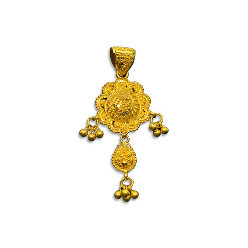 Small Gold Pendant Set Designs With Price