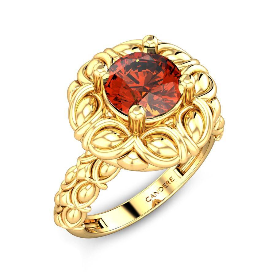 gomed stone ring designs