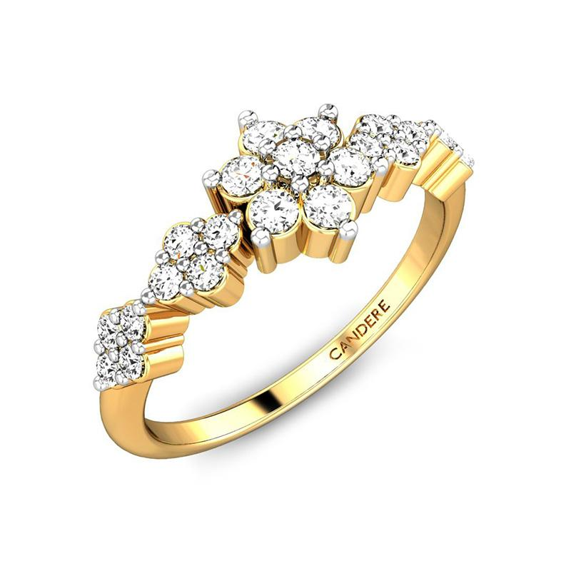 Diamond Rings For Girl