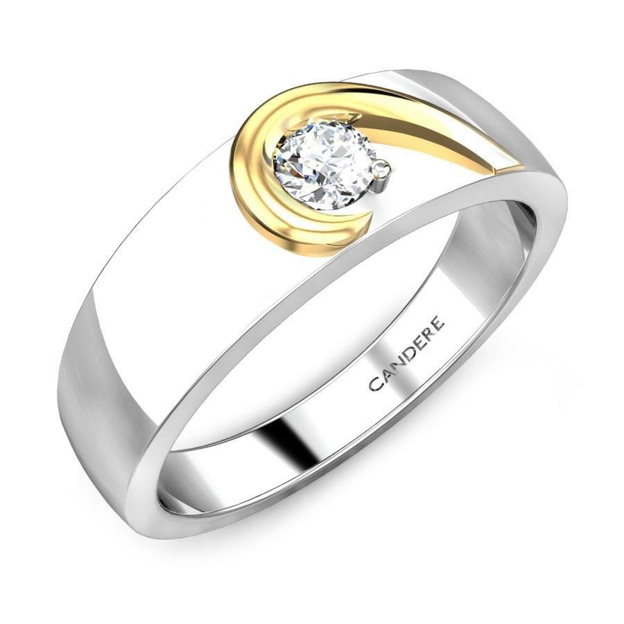 white gold rings for mens