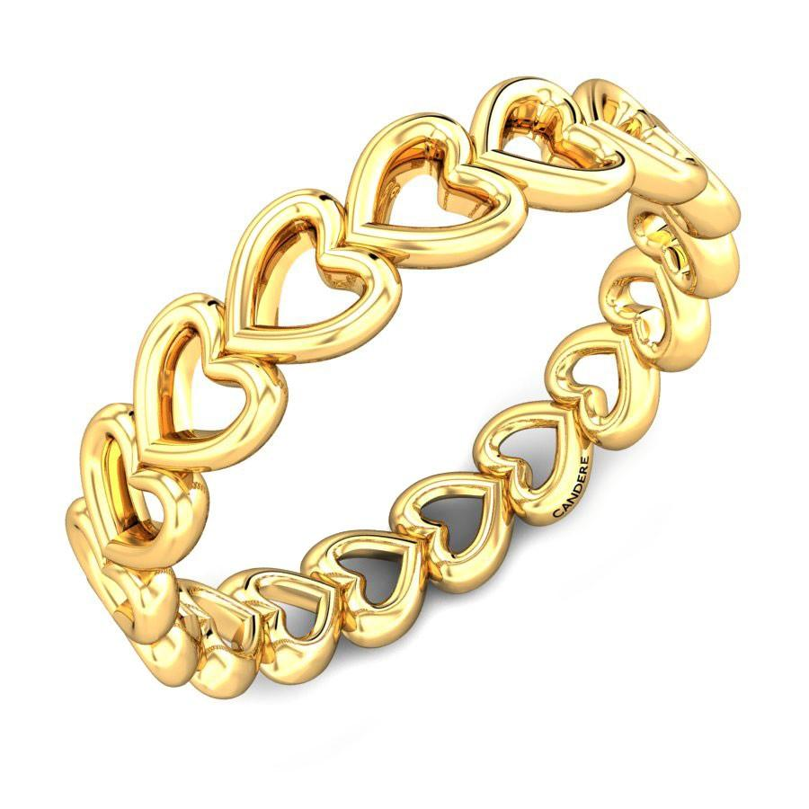 girls gold ring