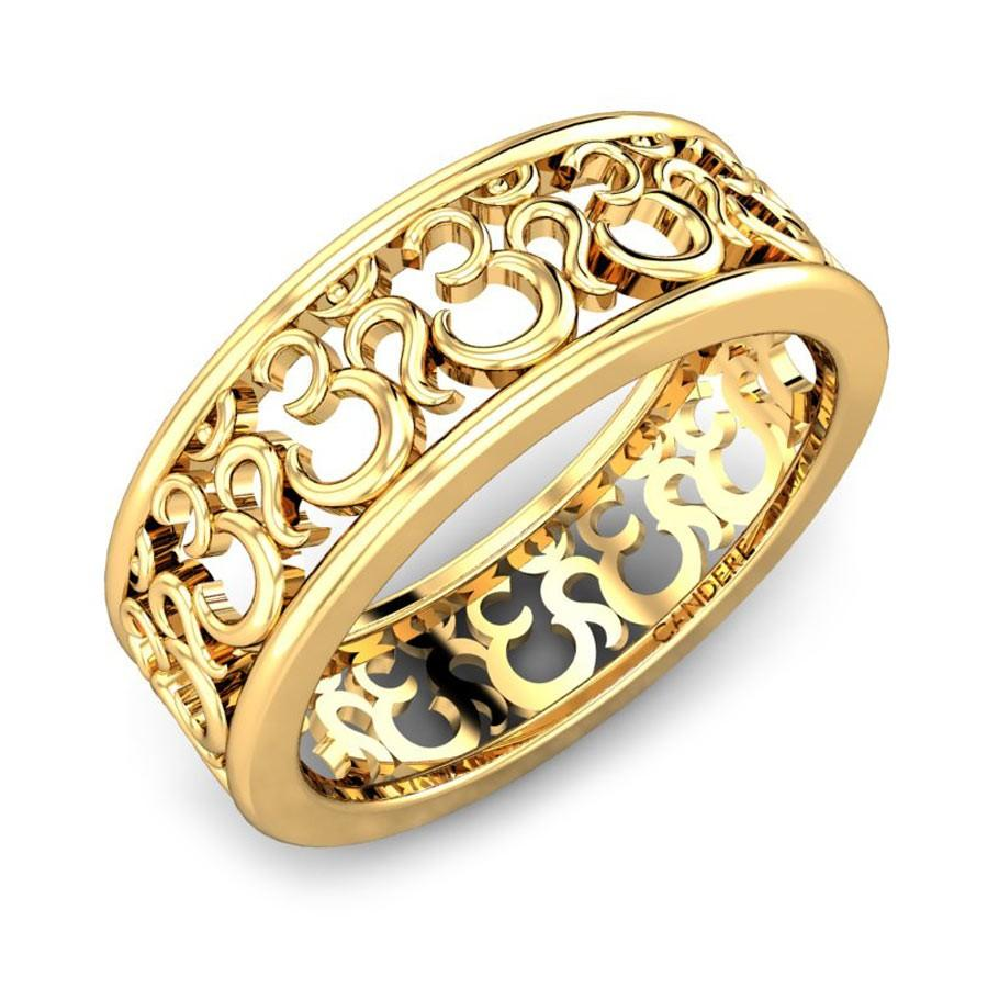 ring design in gold
