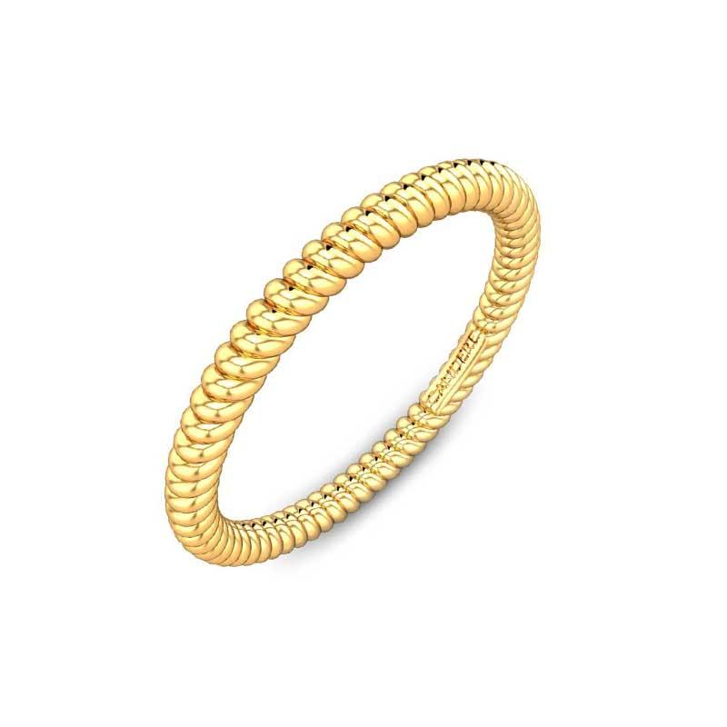 simple gold ring design for girl