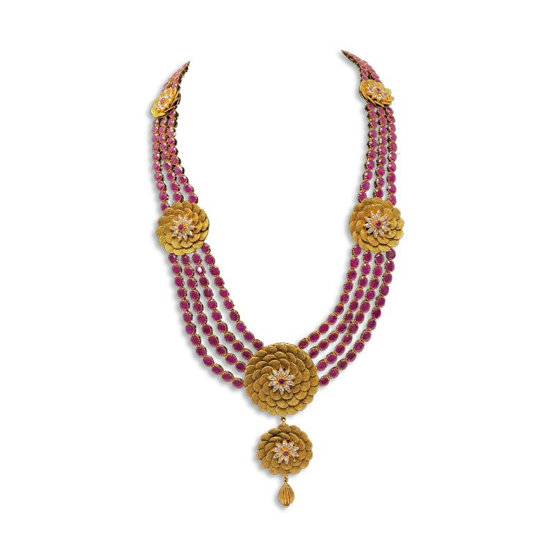 50 PAVAN WEDDING GOLD SET JEWELLERY