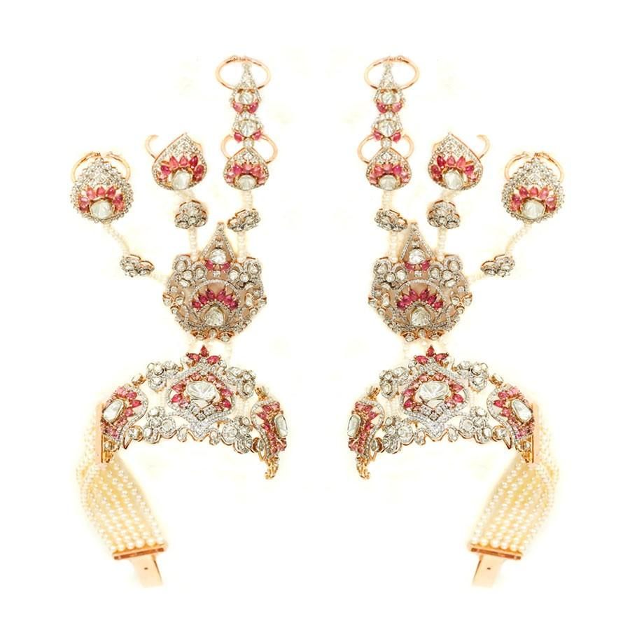bridal jewellery sets gold