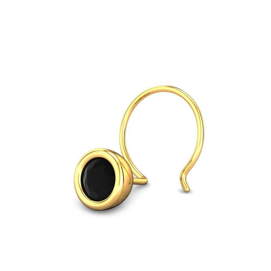 nose pin gold