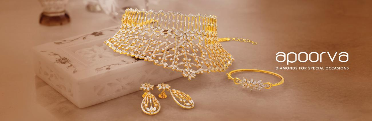 Apoorva Diamond Rings and Bangles