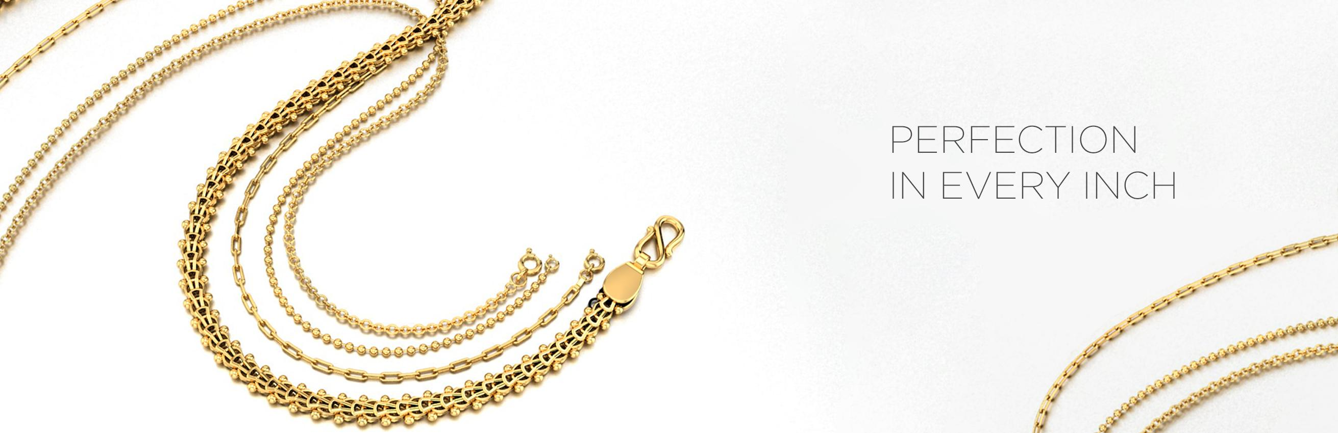 Gold chain design and gold chain models