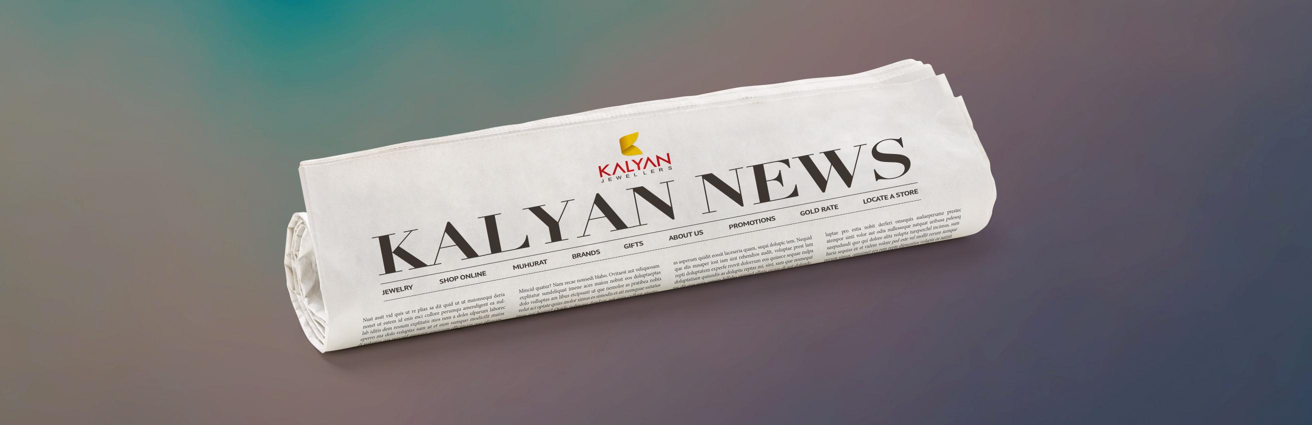 Jewelry kalyan jewellers Kalyan News
