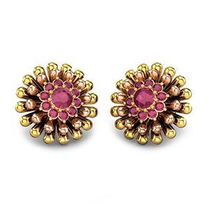 Gold Earrings | Earrings Online | Gold Earrings Design