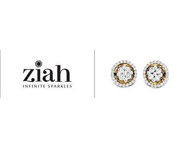 Ziah Diamond Jhumkas diamond earrings