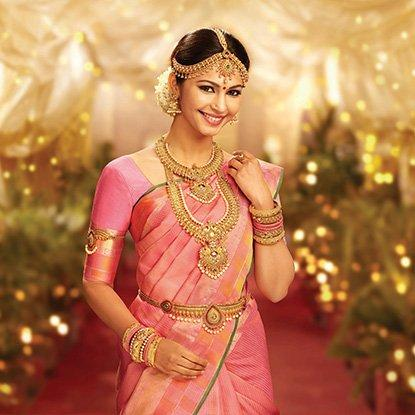 Best wedding jewellery designs in Tamil nadu