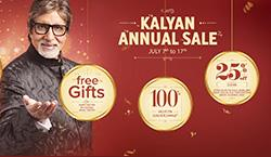 Kalyan Jewellers announces Annual Sale