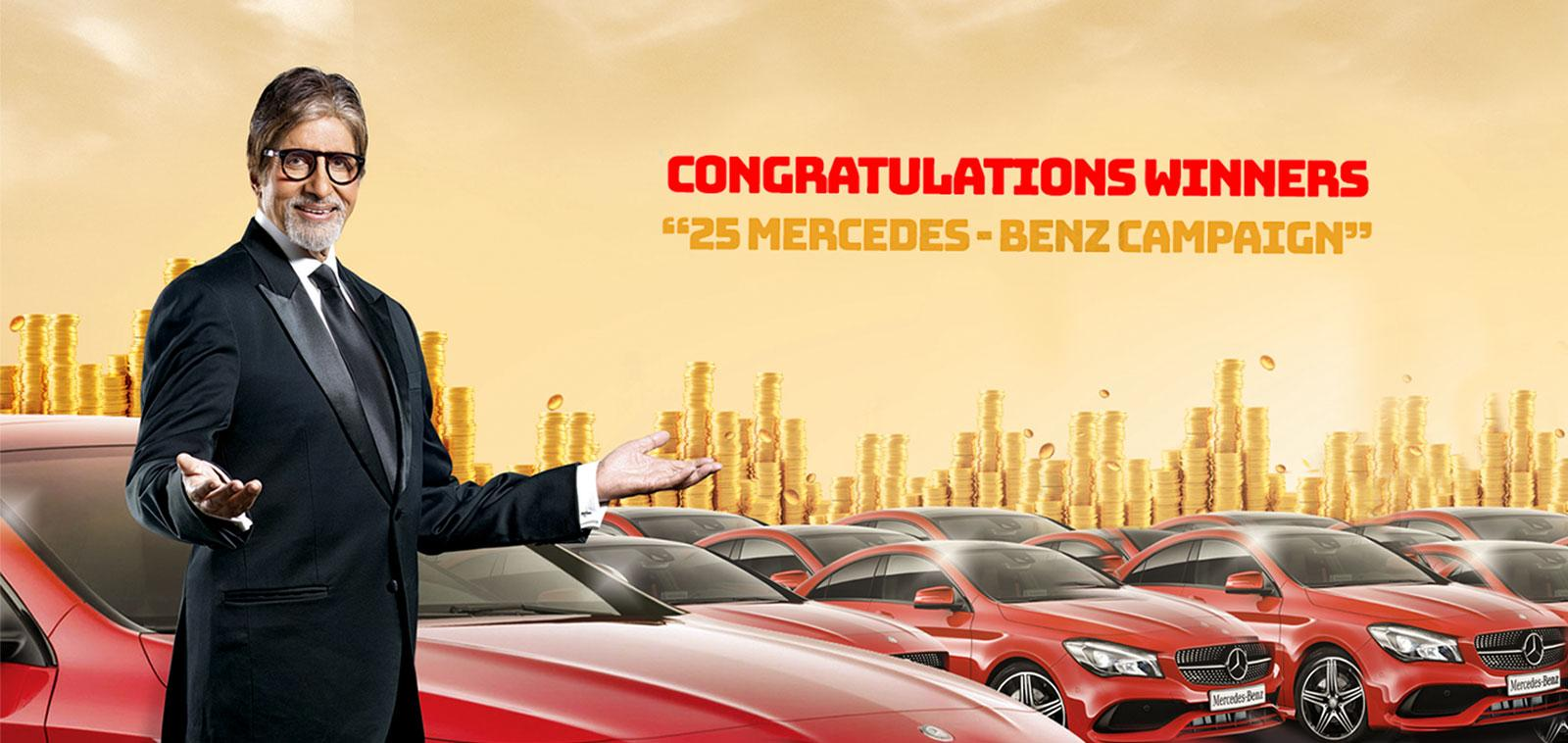 Kalyan Jewellers announces the winners of the global 'Shop & Win 25 Mercedes Benz CLA' Campaign